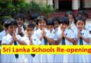The primary sections of all government schools across the island re-opens for academic activities today